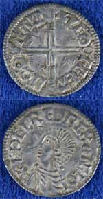 Aethelred II 'Long Cross' penny