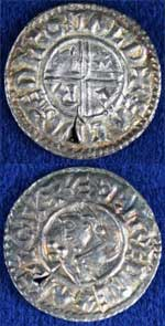 Aethelred II silver penny