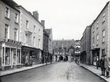 Malmesbury High Street in the 1920s