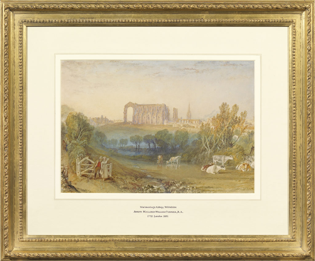 Turner painting of Malmesbury Abbey