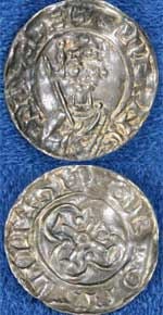 William II silver penny