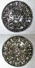 William I 'Paxs' penny