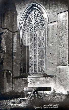 Cannon underneath Abbey
