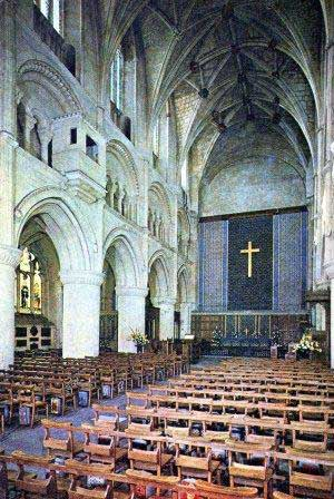 Abbey interior