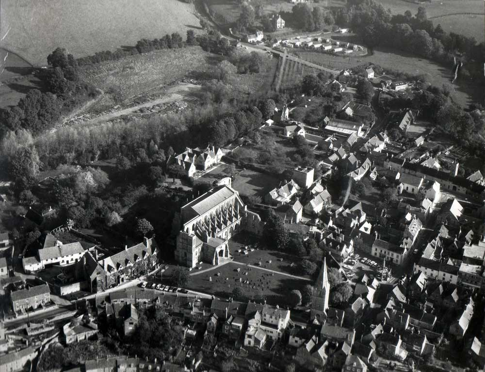 Aerial View of Malmesbury