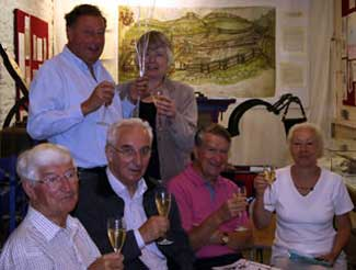 Heritage lottery funding means champagne all round
