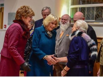 Duchess of Cornwall visits Athelstan museum