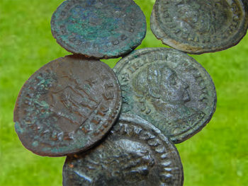 Ancient coin hoard