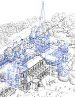 malmesbury abbey drawing