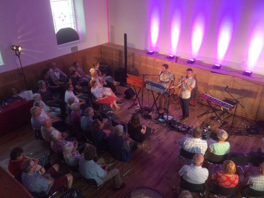 nine barrows concert at rausing building